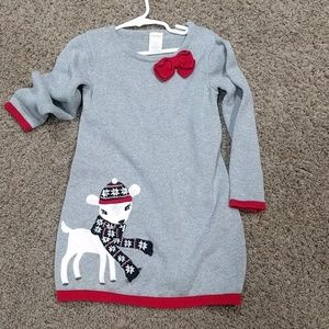 Gymboree 4t sweater dress